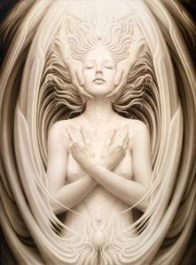 """Unio Mystica"" by visionary artist A. Andrew Gonzalez www.sublimatrix.com"