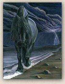 """Dark Knight of the Soul"" by Sheri Gordon  www.blackhorsedesign.com"