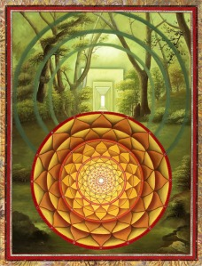 """Open Door To The Heart"" Mandala by Paul Heussenstamm"