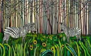 Spirit Guides and Sunflowers by Raffi Kalenderian