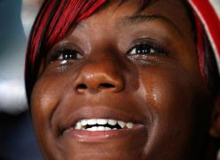 See slideshow of Tears for Obama