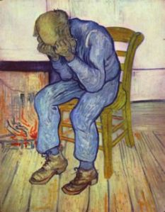 Weeping Man, Vincent VanGogh