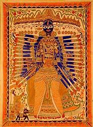 Vishvarupa, The Cosmic Man