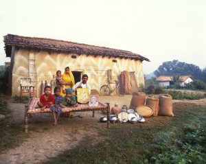 """Indian Family & Belongings, from """"Material World"""""""