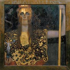 """Klimt's Pallas Athene"""