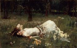 Ophelia, by John William Waterhouse, 1889