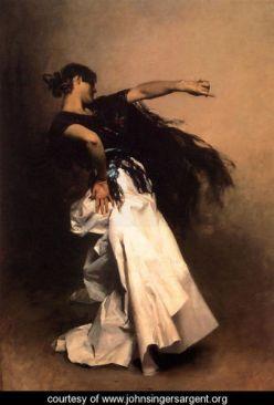 Spanish Dancer by JS Sargent