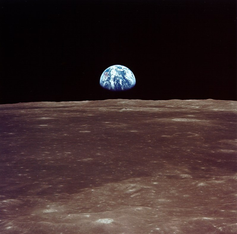 NASA Earthrise - Apollo 8