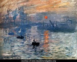 "Monet, ""Impression: sunrise"""