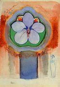 Strange Orchid, Odilon Redon