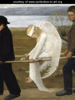 The Wounded Angel by Hugo Simberg