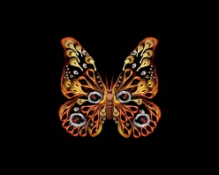Artist Cecelia Webber has created butterfly and flower photos using only images of the naked human body! Click to see more at her website. Truly mind-boggling!