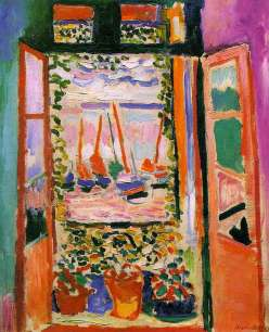 """Open Window, Collioure"" by Henri Matisse, 1905"