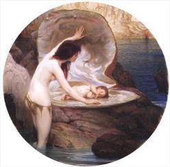 A Water Baby, 1900, Herbert James Draper