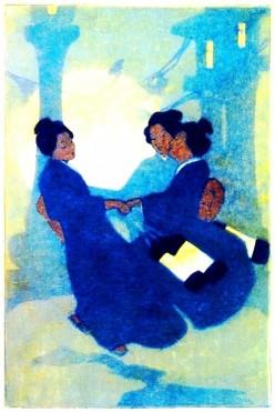 Fox Women (Kitsune), 1908, Bertha Boynton Lum