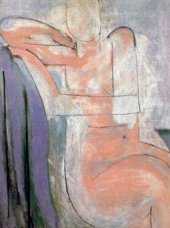 """A Pink Nude Seated"" by Henri Matisse, 1935"