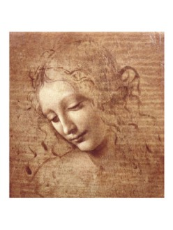 La Scapigliata by Leonardo da Vinci, c. 1508