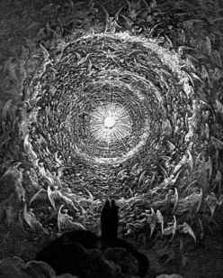 The Saintly Throng in the Form of a Rose, by Gustave Dore