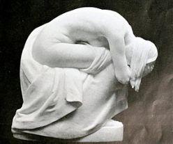 """Grief"" by Bertram Mackennal. Source: Wikiimedia Commons"
