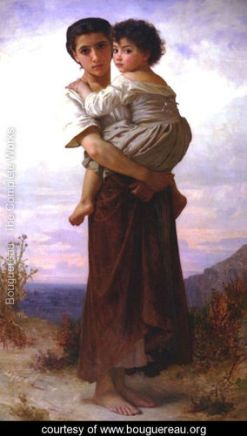 Les-Bohemmiennes, William-Adolphe Bouguereau
