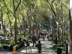 Bryant Park, Midtown Manhattan, 2007