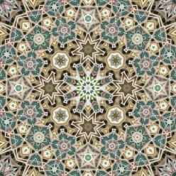 Frost Grass, geometric art by Douglas P. Hill.