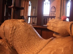 Knight Templar at Dorchester Abbey