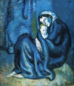 Mother and Child by Pablo Picasso, 1902