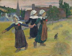 612px-Paul_Gauguin_-_Breton_Girls_Dancing,_Pont-Aven_-_Google_Art_Project