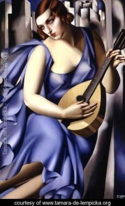 Blue-Woman-with-a-Guitar-(Femme-bleu-a-la-guitare)