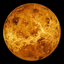 Surface of Venus by Space Art Pictures