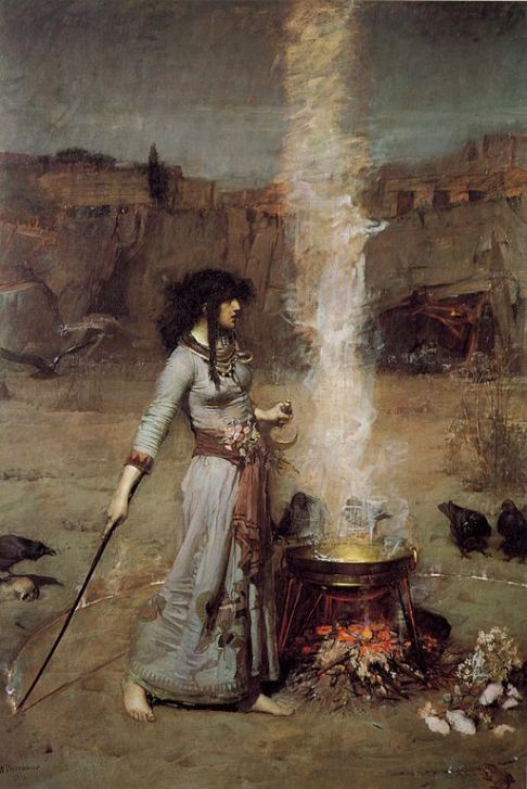 513px-John_William_Waterhouse_-_Magic_Circle