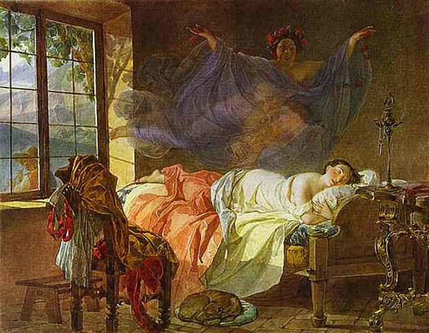 619px-Briullov,_Karl_-_A_Dream_of_a_Girl_Before_a_Sunrise