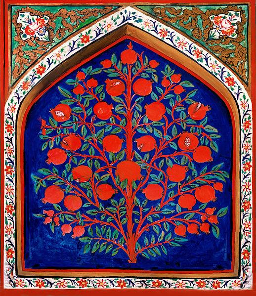 518px-Shaki_khan_palace_interier
